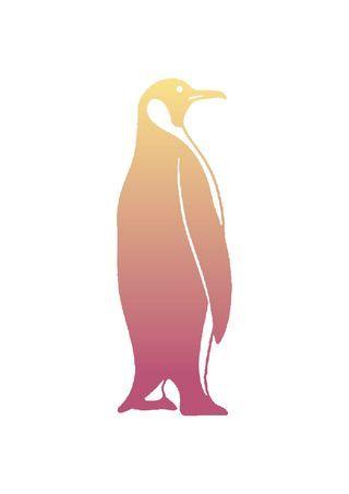 Free graphic clip art penguin image