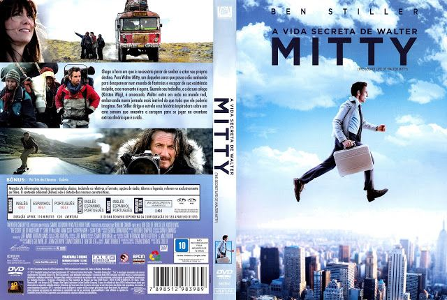 Angel Movies & Games Covers: A Vida Secreta de Walter Mitty