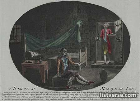 The Man in the Iron Mask (died November 1703) was a prisoner who was held in a number of jails, including the Bastille and the Chateau d'If, during the reign of Louis XIV of France. The identity of this man has been thoroughly discussed...