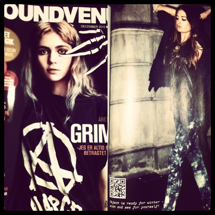 #ad #print #soundvenue #decemberissue #scan #wintervideo2012 #fashion #object #objectcollectorsitem