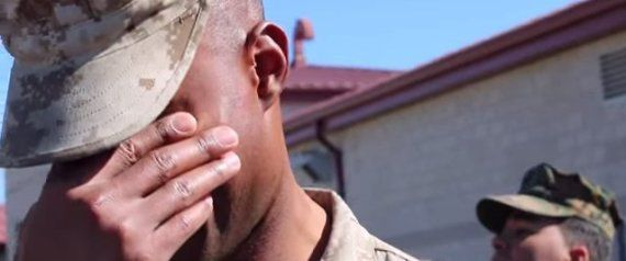 Military Sergeant Breaks Down After Wife Surprises Him On Other Side Of The Country