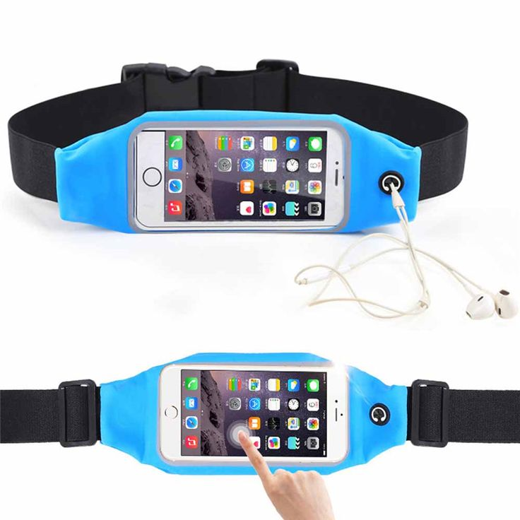 Gym Waist Belt Pouch Universal Waterproof Running Sport Waist Bag Case Outdoor Workout Running Pouch Accessories MF1612