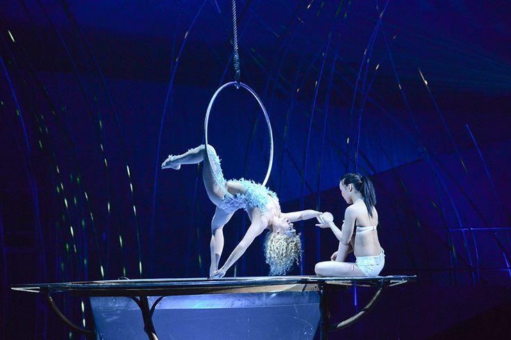 Le spectacle Amaluna du Cirque du Soleil 20 Minutes fête les parents