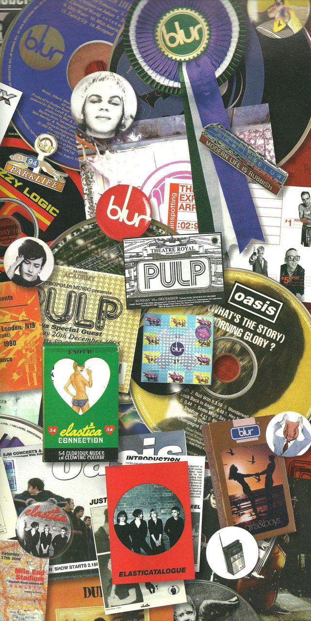 Britpop paraphernalia