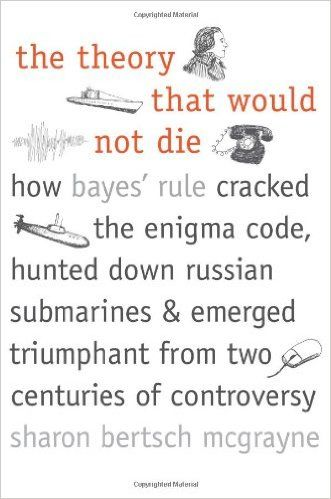 The Theory That Would Not Die: How Bayes' Rule Cracked the Enigma Code, Hunted Down Russian Submarines, and Emerged Triumphant from Two Centuries of Controversy: Sharon Bertsch McGrayne: 9780300188226: Amazon.com: Books