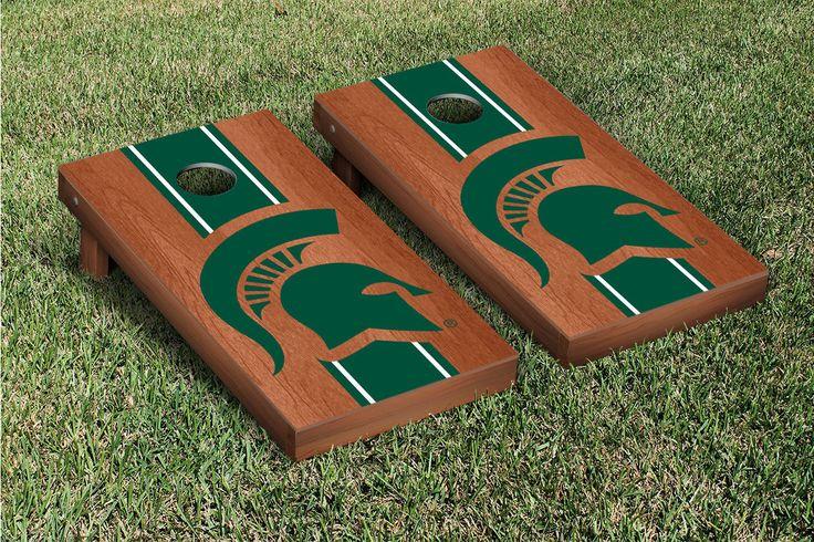 Michigan State Msu Spartans Cornhole Boards Bag Toss Game