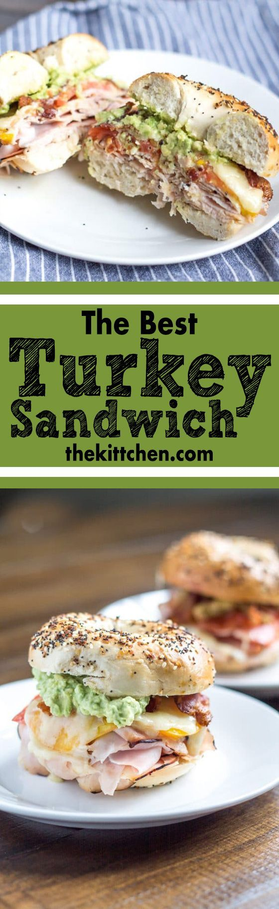 The best turkey sandwich that's super easy to make! ***************************************** Lunch ideas | Lunch recipes | Sandwiches | Sandwich recipes | Easy lunch | Turkey recipes