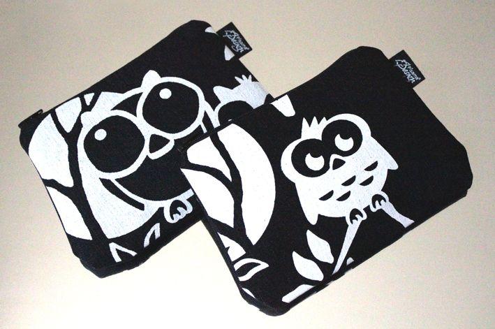 Headwing -kukkaro // Headwing purse (Design by Pisama Design) #pöllö #owl