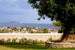 Xenon Estate villas in Spetses - panoramic view.  www.xenonestate.gr