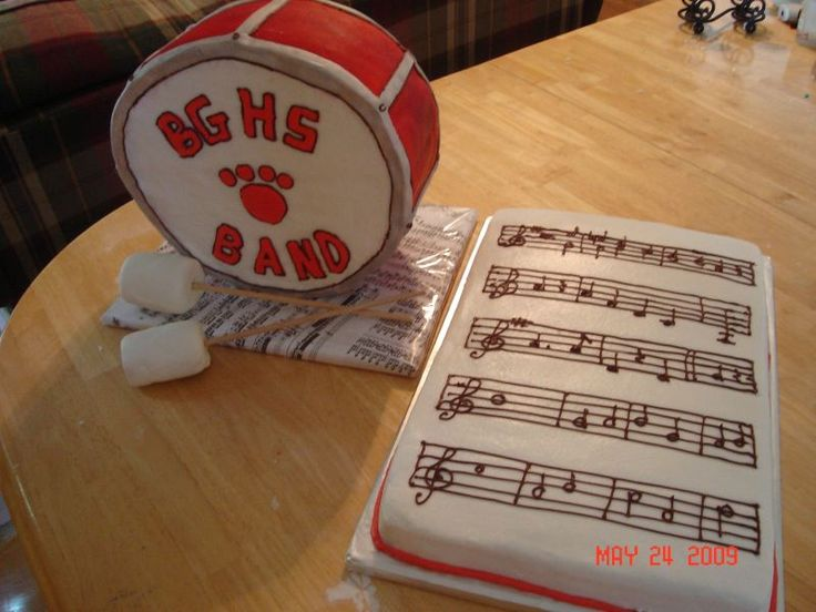 Marching Band Graphics   Marching Band Cake