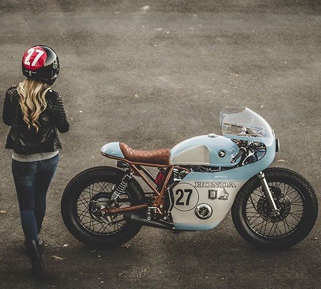Sweet looking bike. CB550