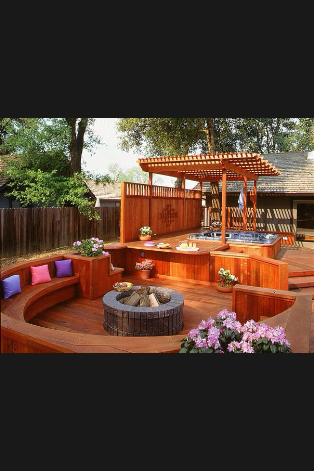 7 Sizzling Hot Tub Designs Outdoor Design