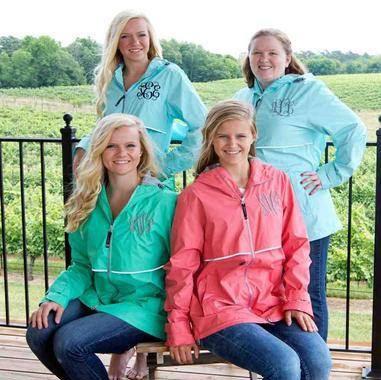 Excited to share the latest addition to my #etsy shop: Monogram Charles River New Englander Jacket, Rain Jacket, Monogram Jacket, Waterproof jacket, http://etsy.me/2nZLiex #clothing #women #jacket #ladiesrainjacket #personalized #embroiderd #monogramrainjacket #monogra