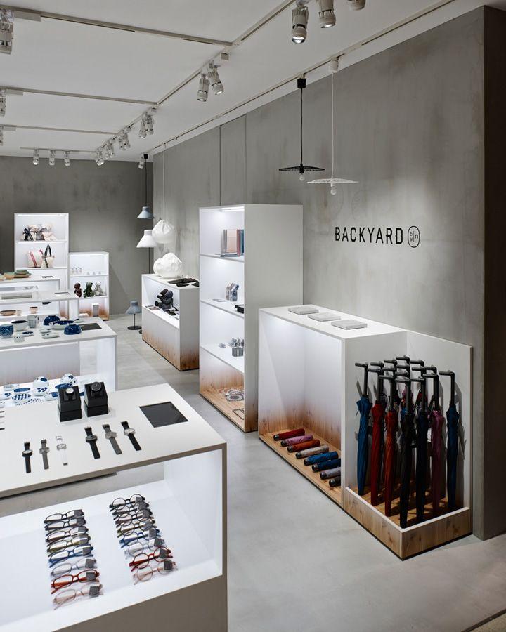 BACKYARD by|n store by Nendo, Yokohama   Japan home decor fashion design shop department store cosmetics art shop