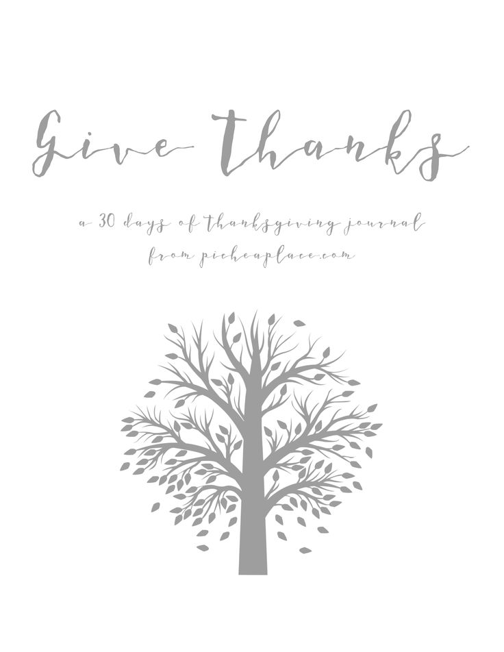 Give thanks a 30 days of thanksgiving journal thankful