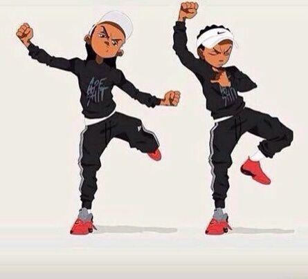 Huey & Riley cartoon