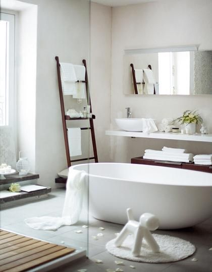 Декор, аксессуары - все оттенки белого ~ Дизайн красивых интерьеров и вещей