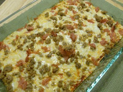 """Where's the Crust? Pizza - so simple and easy, you'll never """"miss"""" the crust."""
