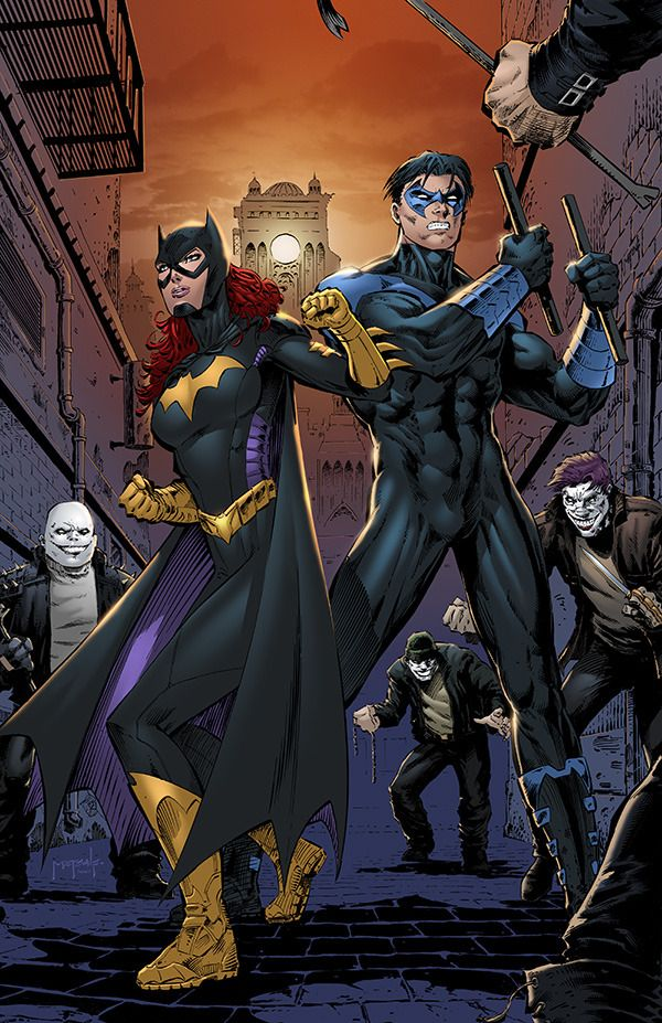 Batgirl & Nightwing - Jason Metcalf, Colors: Sean Ellery