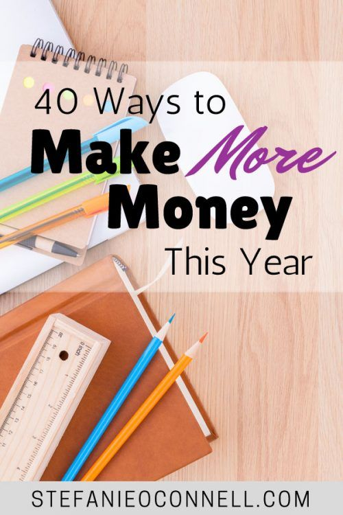 Wherever you are on the income scale, you can make more money next year. Here are 40 ways to earn extra cash at work, in your spare time, at home and more.