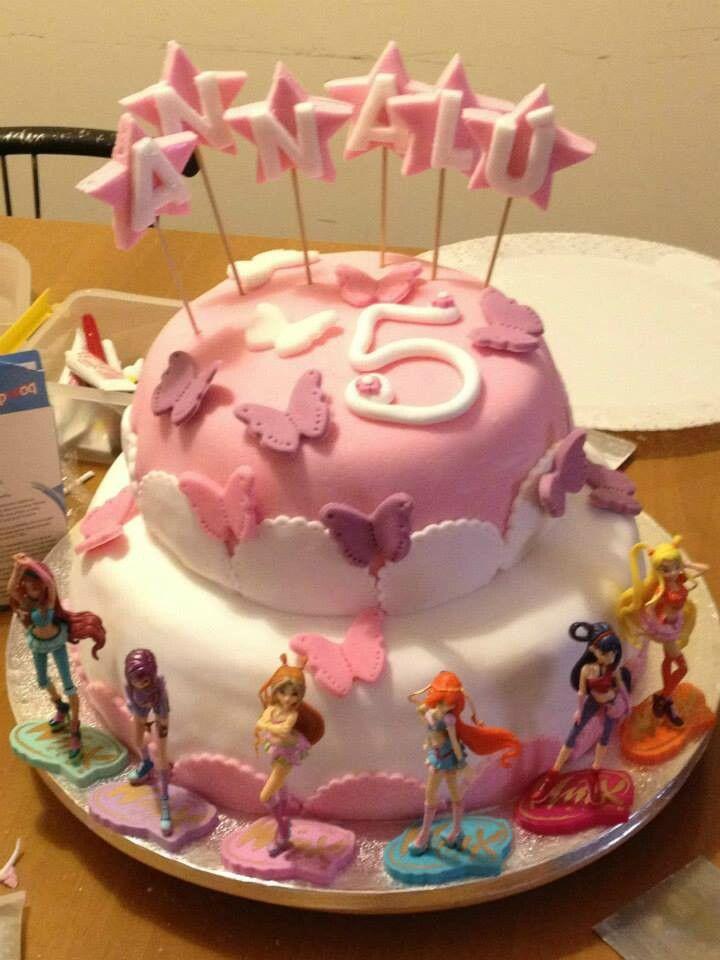 Torta winx rosa