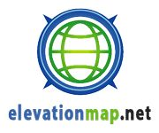 Elevation maps with altitude finder for any location. Altimeter tool.