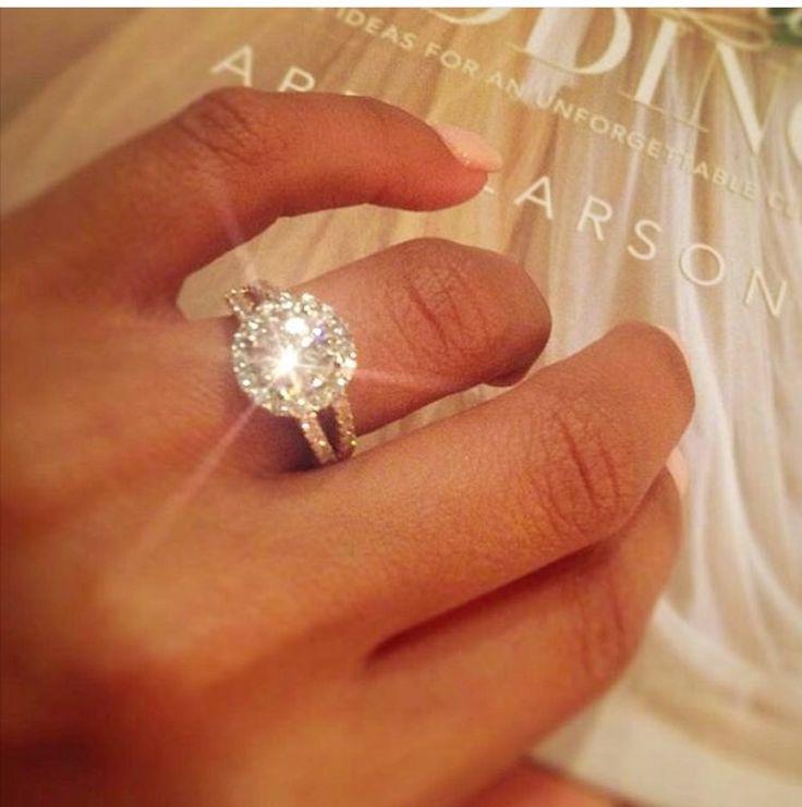 Diamond. Wedding ring. #women #engagement #commitment #marriage #love #couple