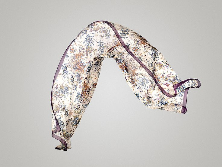 colorful silk scarf @ www.tsiakiris.gr