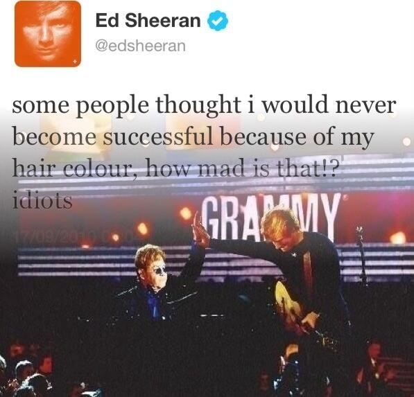 You show them, Ed.!!! I love this SO much.! :)