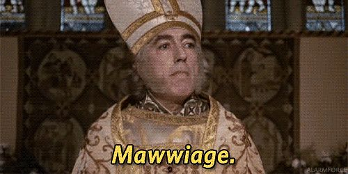20 great lines from the Princess Bride. Mawwiage.