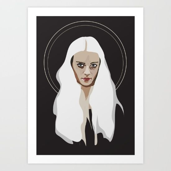 Buy Woman as Element - Air Art Print by Anna McKay. Worldwide shipping available at Society6.com. Just one of millions of high quality products available.