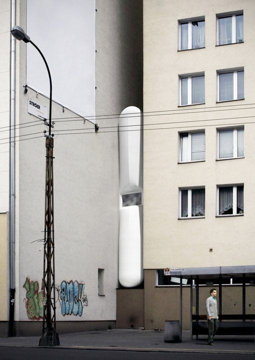 the smallest house in Warsaw