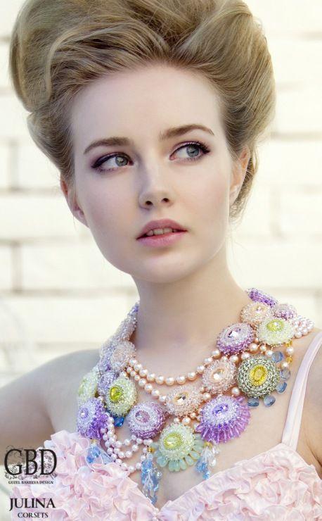 Guzel Bakeeva Designs, pastel beauty! <3