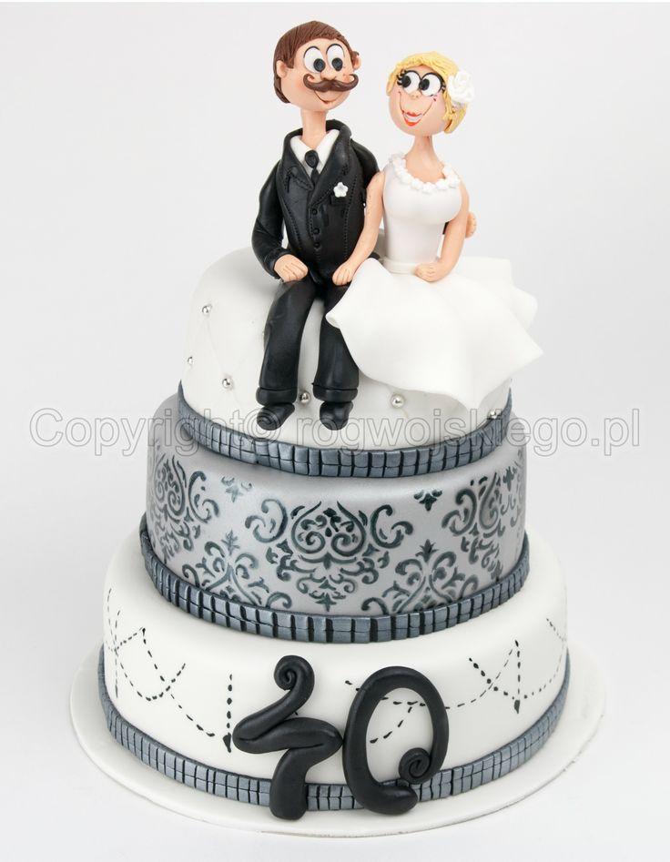 anniversary cake, tort na rocznicę ślubu,