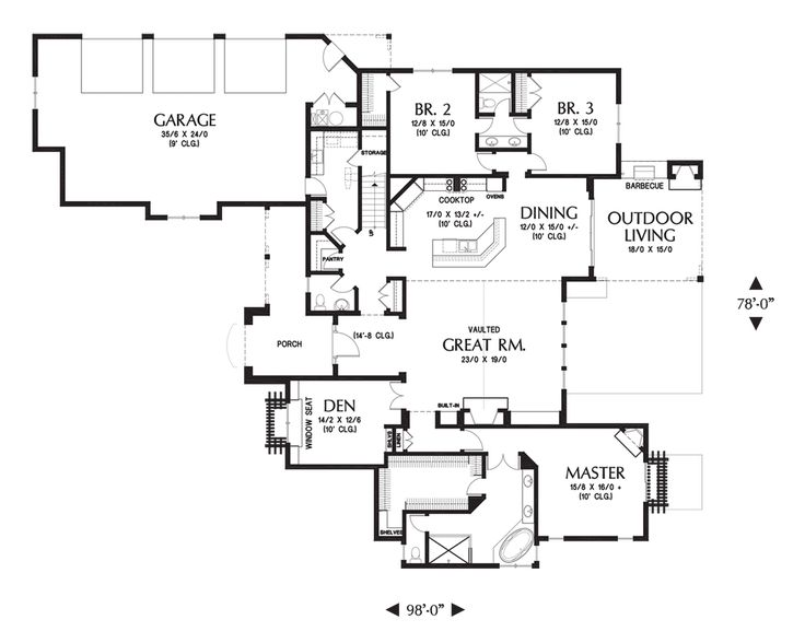 Mascord House Plan 1334