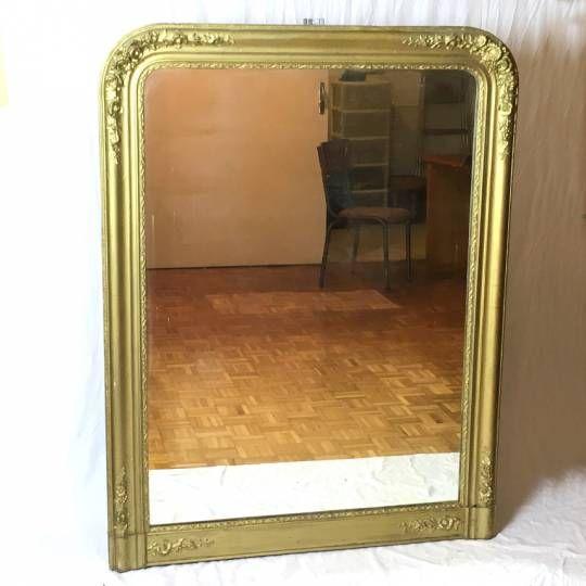 Les 25 meilleures id es de la cat gorie miroirs vintage - Peindre un miroir dore ...