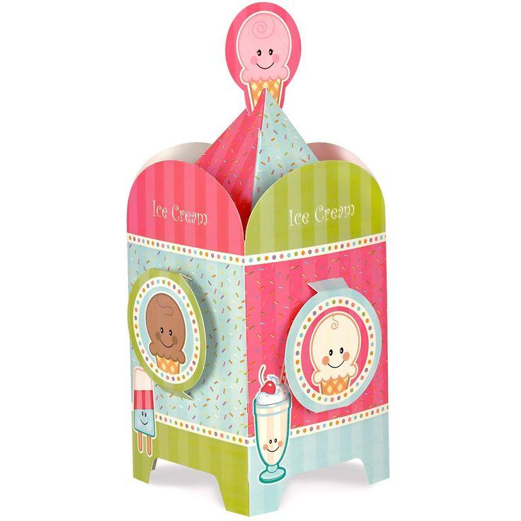Ice Cream Sprinkles Centerpiece