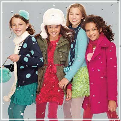 Gap girls wear.