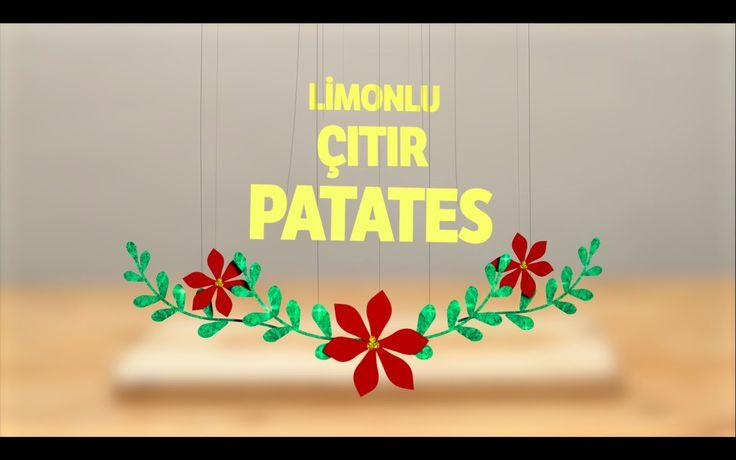 Patatesi Limon ve Sarımsakla Harika Bir Yemeğe Çevirdik! Karşınızda Limonlu Patates