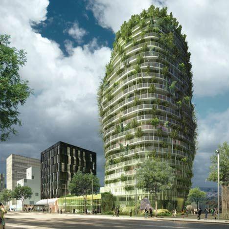 Les 14 meilleures images propos de architecture for Architecture vegetale