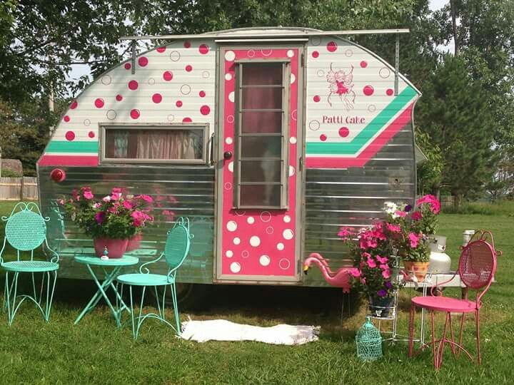 Love This Is So Cute Maybe My Next Project Vintage RvVintage