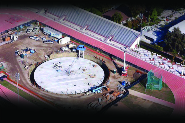 Cromwell Track and Field Thermal Energy Storage System | USC | Sustainability