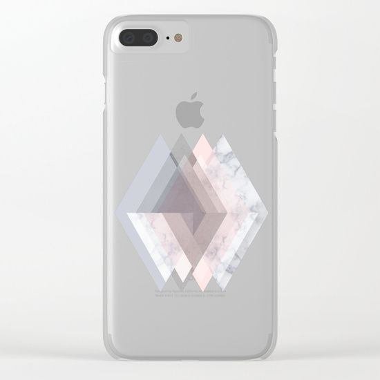 Shop clear iPhone cases featuring brilliant patterns and designs on frosted, transparent shells - created by the world's best independent artists. marble, blush, pink, rose, gray, gold, copper, geometry, geometric, triangles, Scandinavian, minimal, mid century , design, trend, white, fresh, modern, society6, art print, tapestry, window curtains, home decor, interior design, home style, iphone, iphone case, iphone 8, iphone x