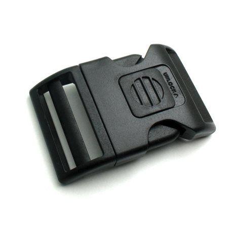182f697afc551 1 x 38mm Boucle Attache Rapide / Fermoir Clip / Plastique / Sécurité ...