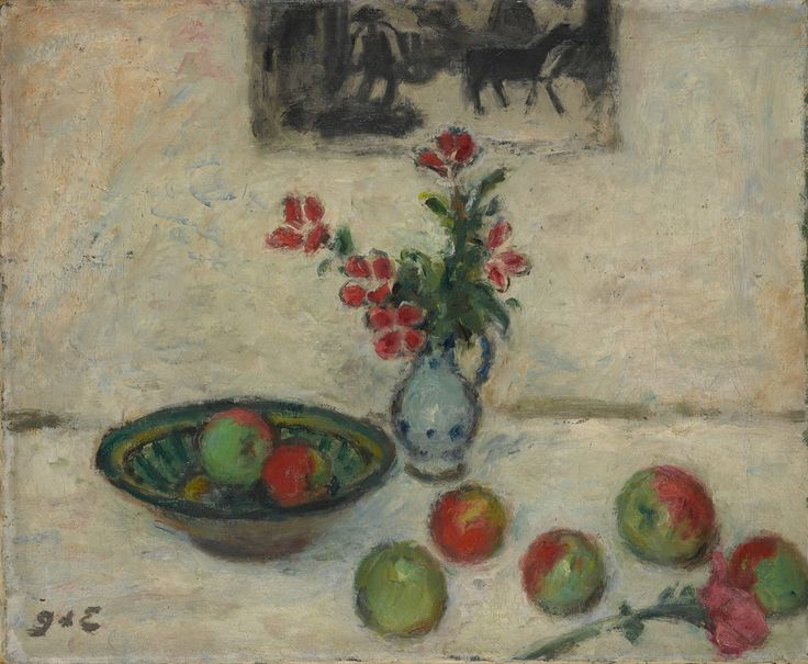 georges d'espagnat(1870-1950), flowers and fruit, c. 1920. oil on canvas, 50.5 x 61.4 cm. the metropolitan museum of art, new york, usa  http://metmuseum.org