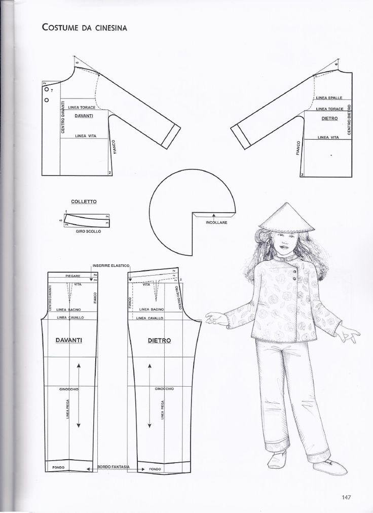 Molto Oltre 25 fantastiche idee su Modelli bambino su Pinterest  ZH79