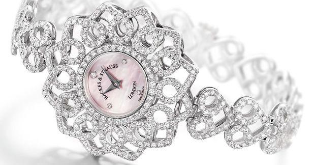 Los relojes de diamantes de la colección Victoria