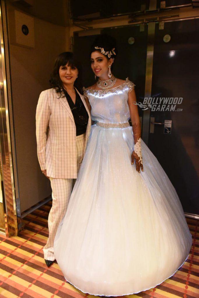 Sana khan bigg boss wedding cakes