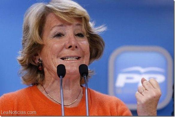 Elecciones España: Esperanza Aguirre va perdiendo en Madrid - http://www.leanoticias.com/2015/05/25/elecciones-espana-esperanza-aguirre-va-perdiendo-en-madrid/
