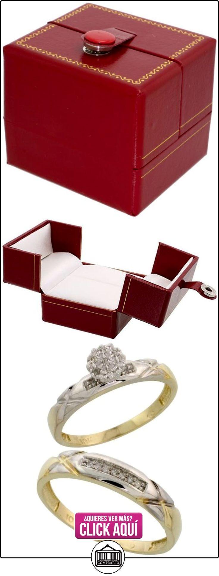 Revoni - Anillo de compromiso de oro amarillo  ✿ Joyas para hombres especiales - lujo ✿ ▬► Ver oferta: http://comprar.io/goto/B005M3EQ4Q